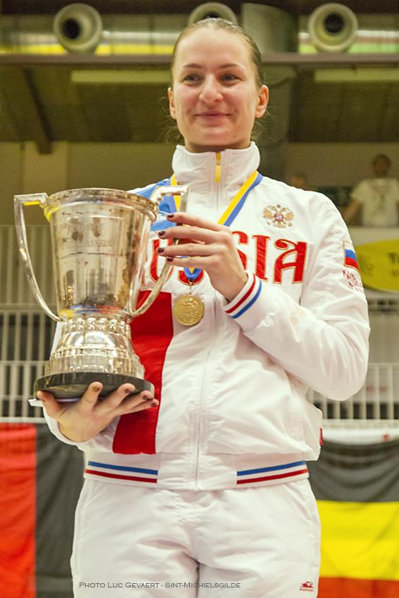 Sofya Velikaya wint de 10de Challenge Yves Brasseur