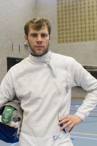 Seppe Van Holsbeke is strijdvaardig! Foto: Luc Gevaert