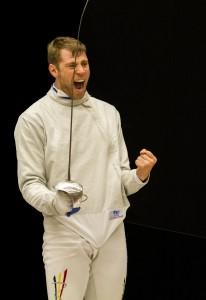 Seppe Van Holsbeke, wat blij met goud op zijn Flemish Open! Foto: Luc Gevaert
