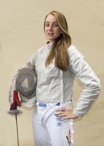 Alexandra Gevaert werkt hard aan de toekomst. Foto: Luc Gevaert.