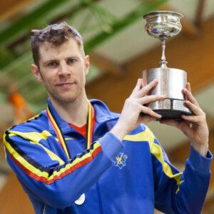 Seppe Van Holbeke wordt voor de 11de keer Belgisch Kampioen Senioren! Foto: Luc Gevaert.