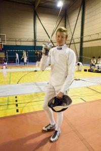 Robin Clercx: 9de en een 1ste EK-norm dit seizoen! Foto: Luc Gevaert.